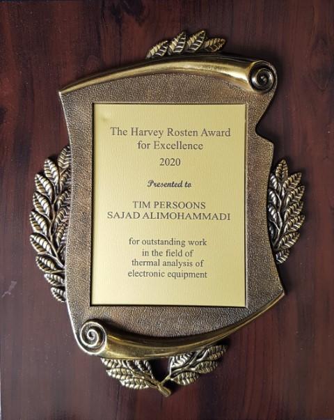 2020 Harvey Rosten Award for Excellence