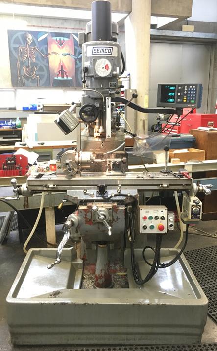 Equipment - Mechanical & Manufacturing Engineering - Trinity