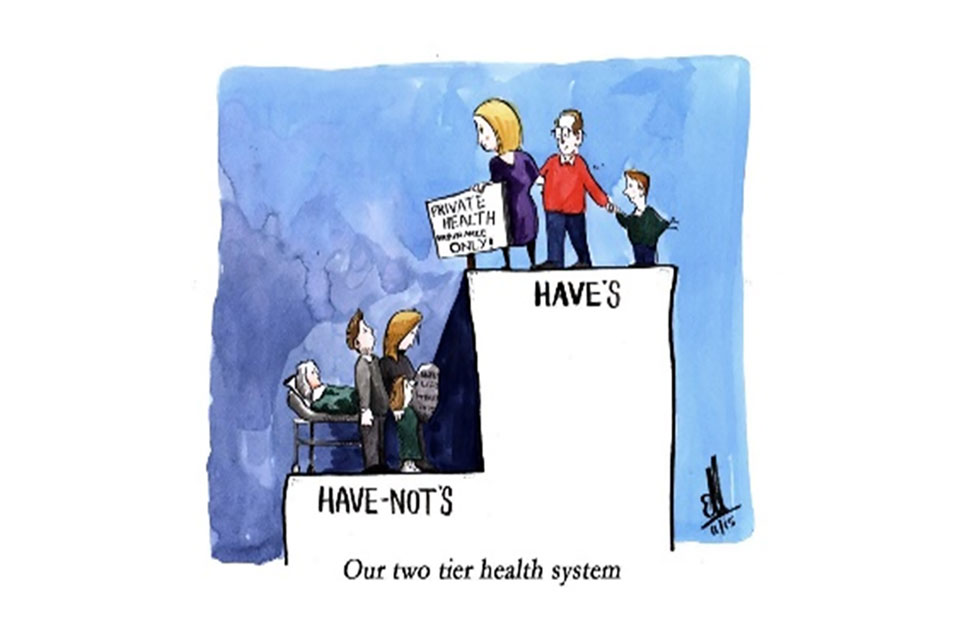 two tier healthcare system essay Today, in canada there are two types of health care systems the current and most predominant system is the public health care system, which offers health care to everyone who.
