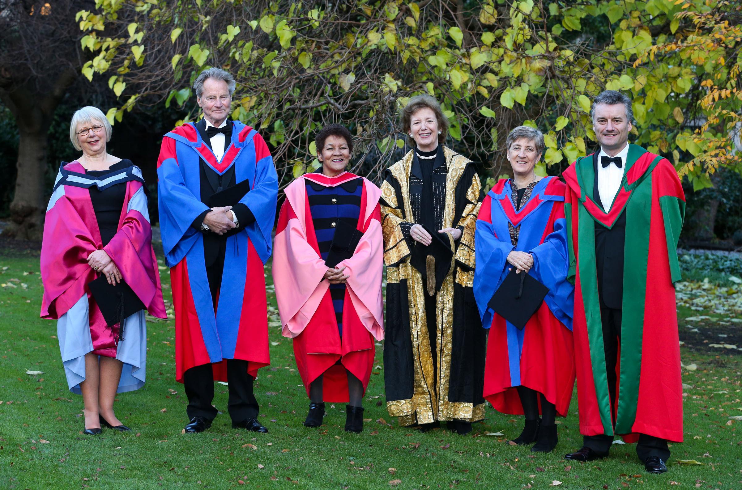 2012-13 - Archive - Honorary Degrees - Registrar : Trinity