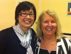 Dr Joyce Yen with Prof Eileen Drew