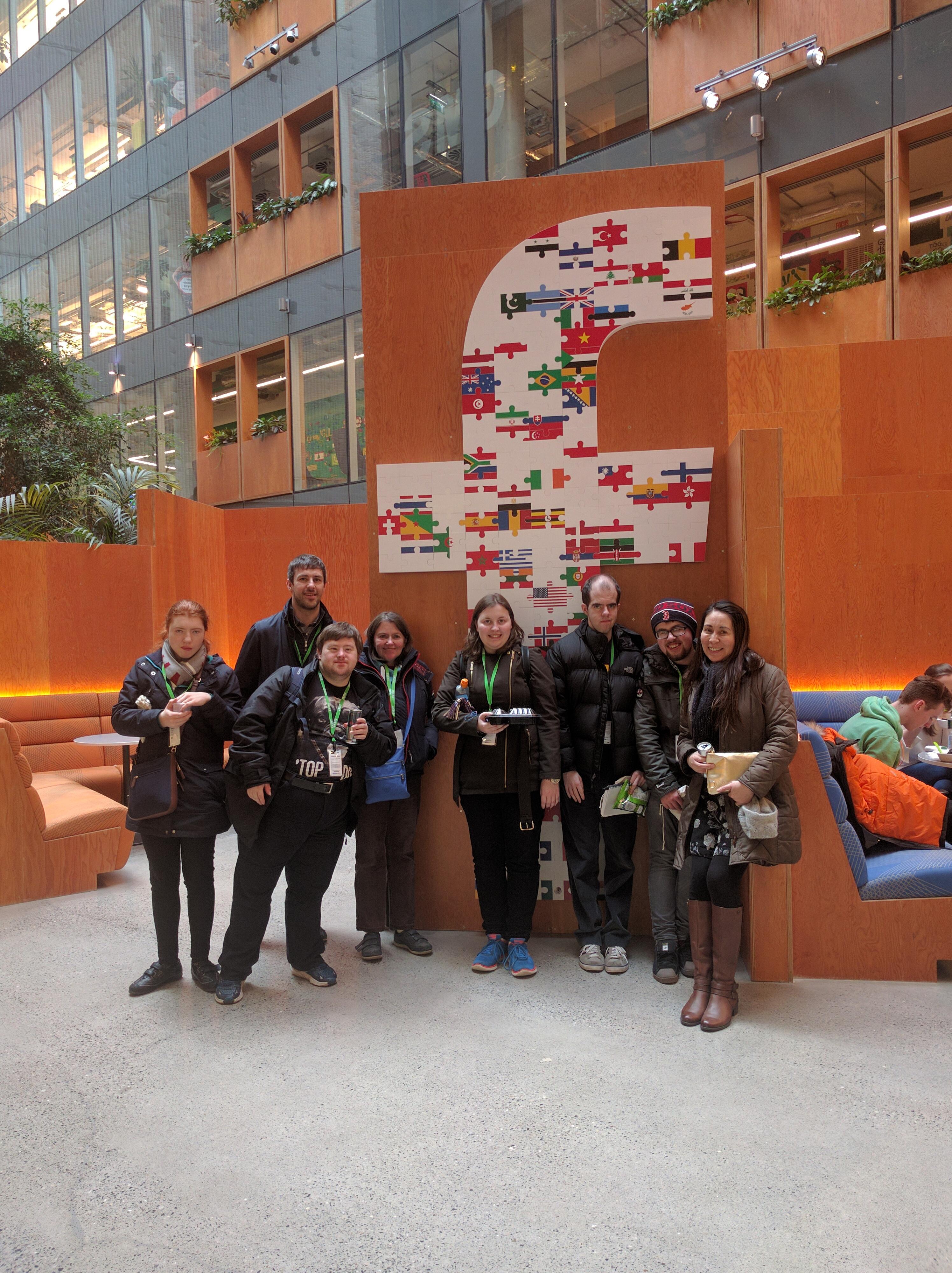 TCPID Trip to Facebook Ireland HQ - TCPID - Trinity College