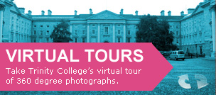 Take Trinity College's virtual tour of 360 degree photographs